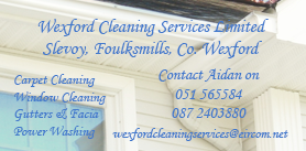 Wexford Cleaning services Limited